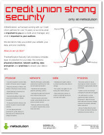 Credit Union Strong Security Document